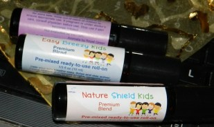 3 Bottle Set- Nature Shield Kids Ready to use Essential Oil Roll on Pre-Diluted