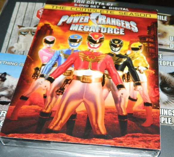 Power Rangers Megaforce: The Complete Season [DVD + Digital]