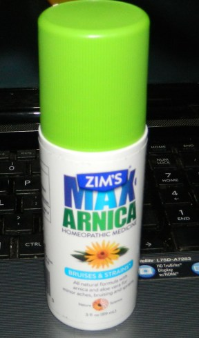 Zim's Max Arnica Homeopathic Roll-On, 3 Ounce