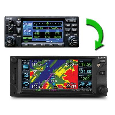 Garmin GTN UPGRADE 430 to GTN 650 Garmin Panel Mount GPS Upgrade