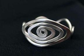 Spiral Eye Bracelet