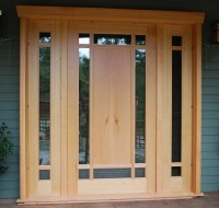 Custom wood doors | Saratoga Woodworks | Craftsman style ...
