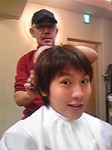 岡田亮輔と父