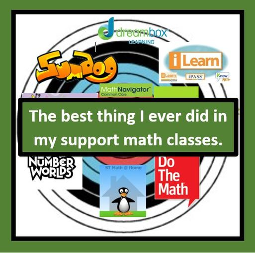 The #1 thing I did in my support Math Classes - Sara VanDerWerf