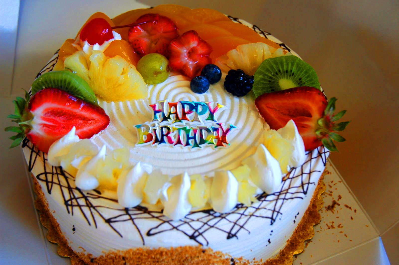 Gambar Pesawahan Happy Birthday Images Cake