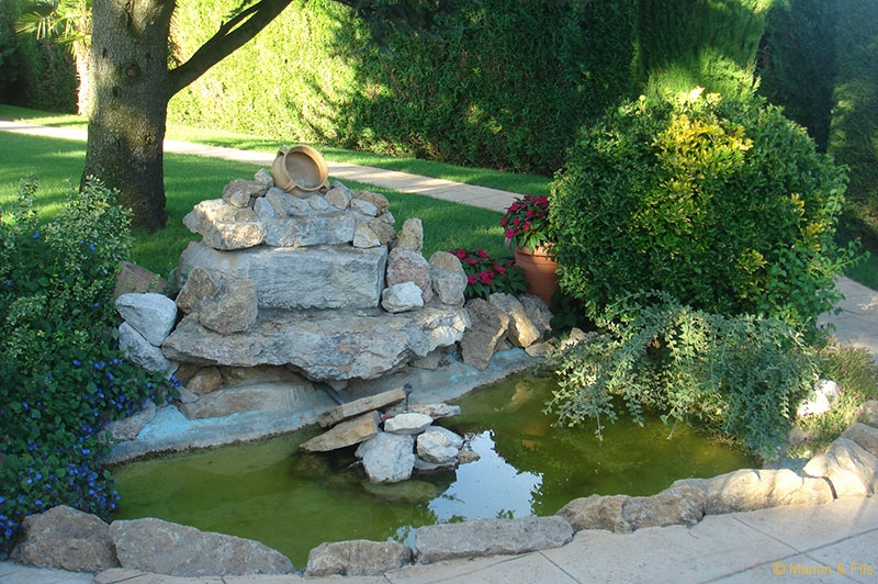 Amenagement Terrasse Piscine Installation De Spa Nature, Cascades Et Bassins - Sarl Manon