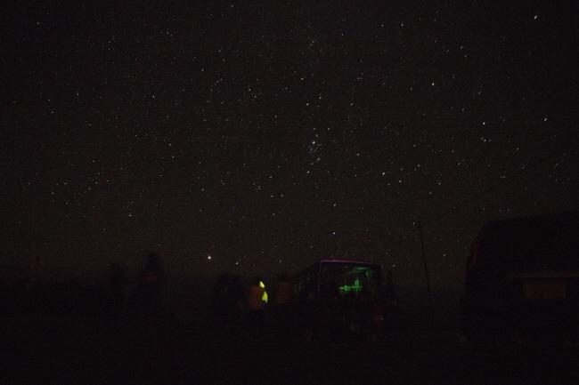 サロベツの星空