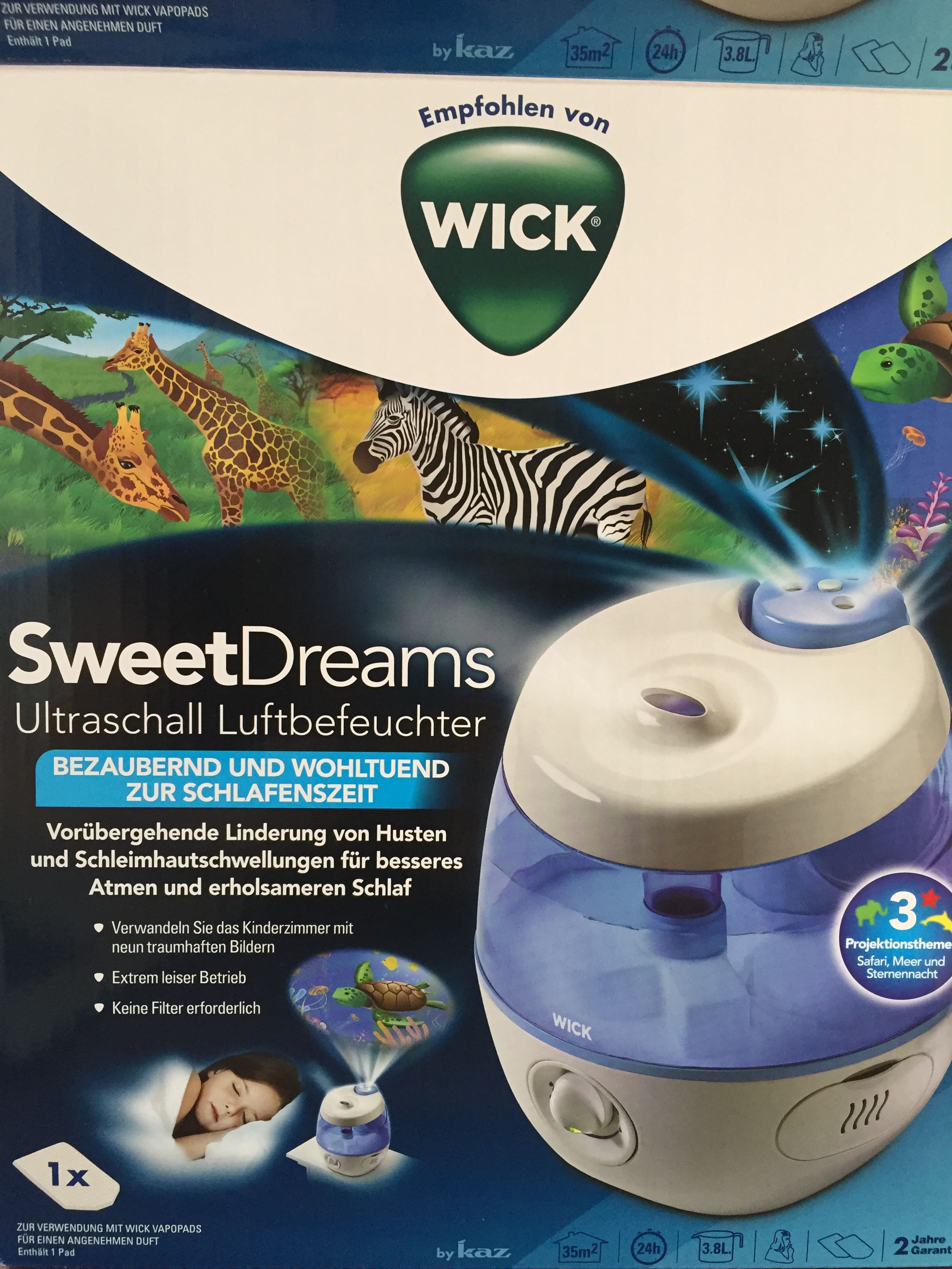 Wick Luftbefeuchter Sweetdreams Ultraschall Luftbefeuchter Wick Sartison Com