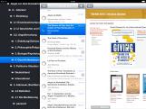 PaperShip auf dem iPad - Ordner, Literatur, Webseite