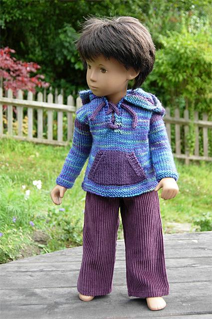 Boy Sweater Purple 1