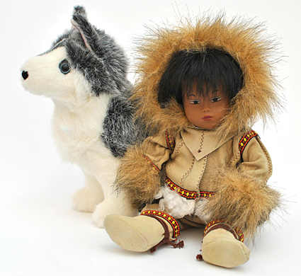 Eskimo baby 5