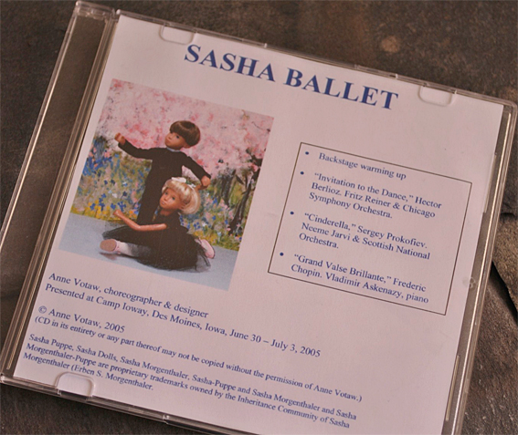 Sasha Ballet CD