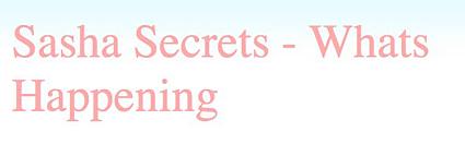 Sasha Secrets - Emag