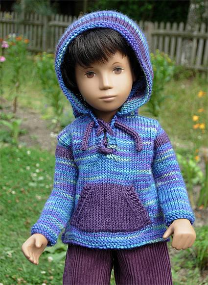 Boy Sweater Purple 2