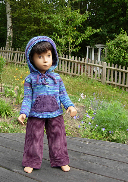 Boy Sweater Purple 3