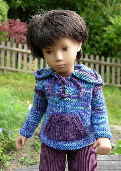 Boy Sweater Purple 4