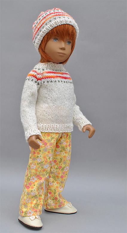 Orange Knitwear 8