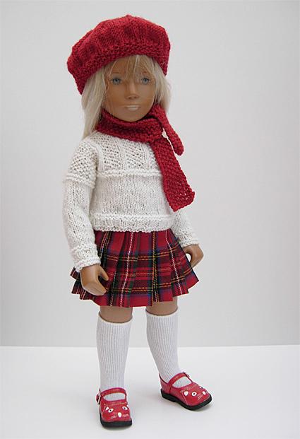 Red Knitwear 1