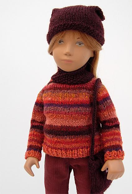 Red Knitwear 3