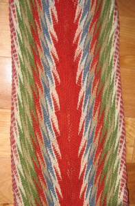 Loosely woven a la Goulet
