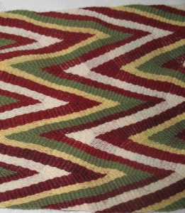 W, or Nested Chevron Pattern