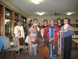 Victoria Weavers and Métis at the end of their workshop