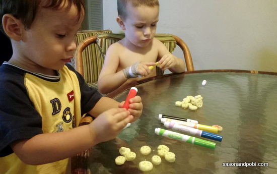 Boys Doing Daddy Craft