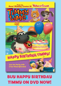 Timmy Time Happy Birthday Timmy