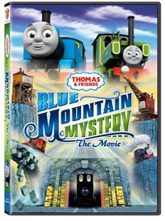 Thomas and friends blue mountain mystery the movie dvd