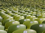 500px Photo ID: 28795857 - The seats of the Olympic Stadion in Munich.