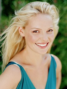 Katherine Heigl Beautiful Blonde Hair Color