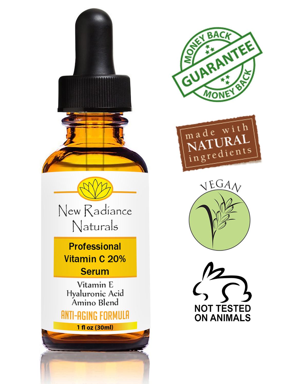new radiance naturals vitamin c serum review sassy dove. Black Bedroom Furniture Sets. Home Design Ideas