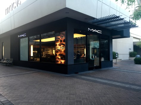 MAC Cosmetics Store Exterior Biltmore Fashion Park Phoenix AZ
