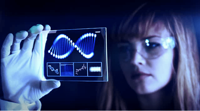 woman-dna-strand-scientist-genetics