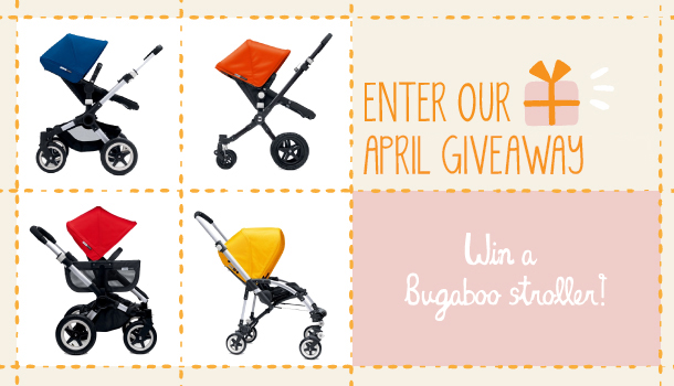 Bugaboo Stroller Kate Middleton April Giveaway Stroll Your Way Into Style With A Fabulous