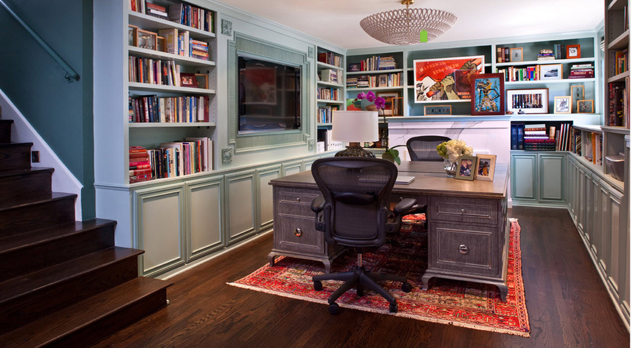 Home Office Cabinets Transform Your Home Office With Built In Cabinets