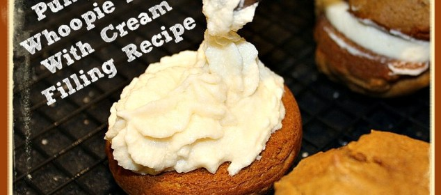 Pumpkin Whoopie Pies With Cream Filling Recipe - Sassy Townhouse Living