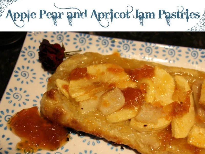 Apple Pear and Apricot Jam Pastries - Sassy Townhouse Living