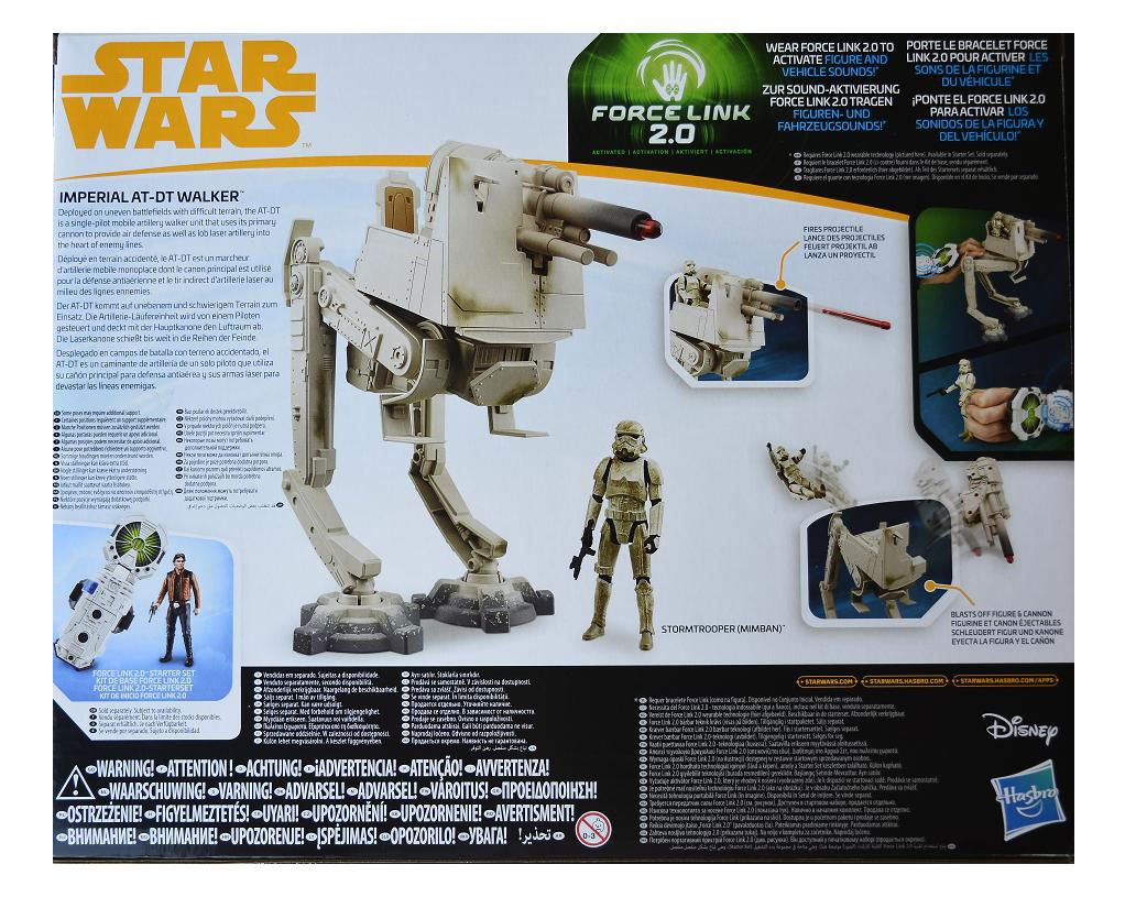 Dt Und Shop Star Wars Solo Force Link 2 Class B Vehicle With Figure 2018 Imperial At Dt Walker Animegami Store