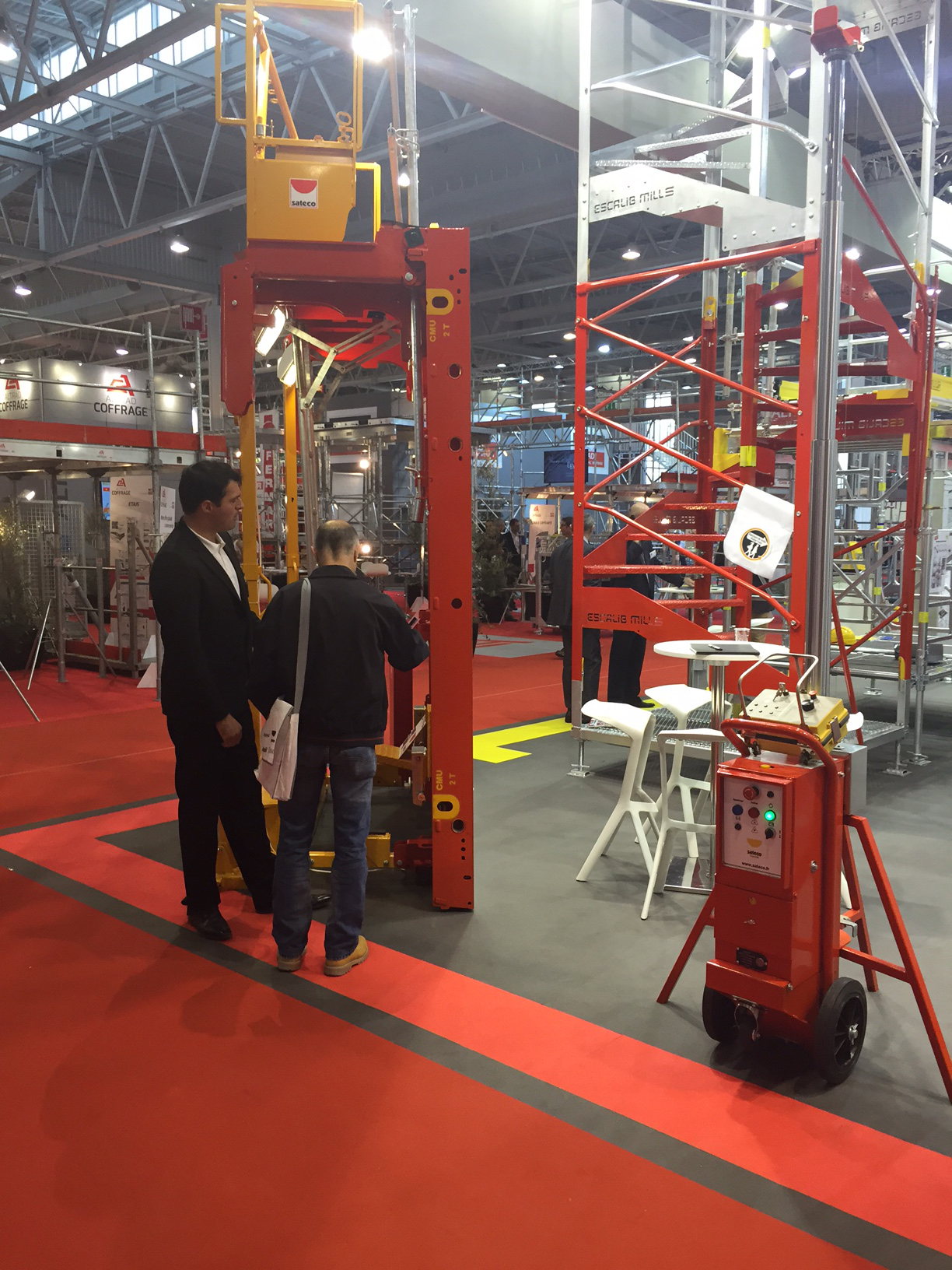 Salon Batimat Salon Batimat Sateco SpÉcialiste Du Coffrage Et De La