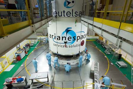 Eutelsat and Arianespace sign multiple-launch service agreement