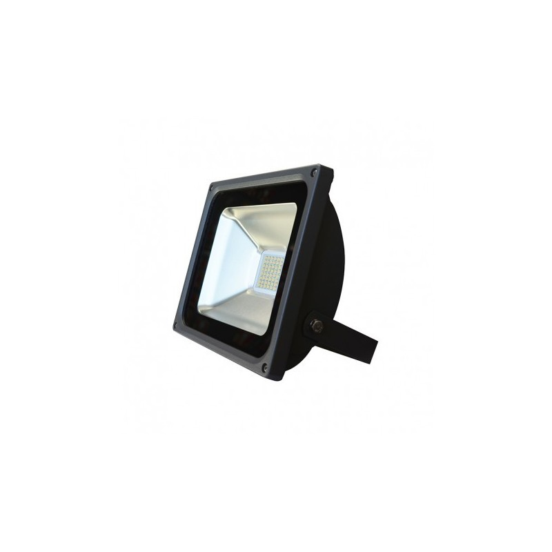 Projecteur Led Exterieur Blanc Chaud Projecteur Plat Gris Anthracite 30w 270w Ip65 Led Blanc