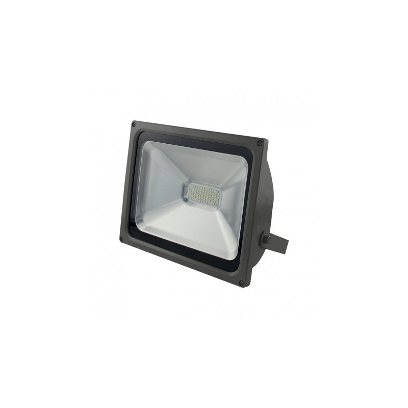 Projecteur Led Exterieur Blanc Chaud Projecteur Plat Gris Anthracite 50w 450w Ip65 Led Blanc