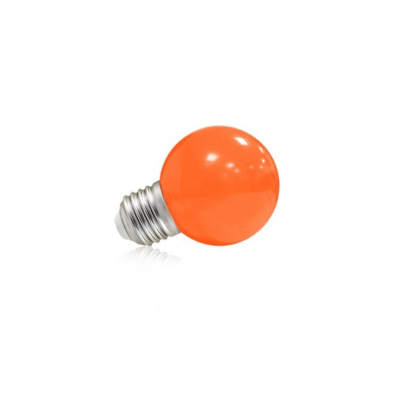 Ampoule Led 9w Ampoule Led E27 Bulb Opaque Orange G45 1w 9w