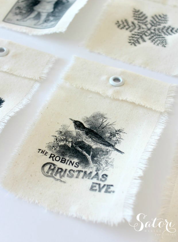 Vintage Christmas Gift Tags  More Wrapping Ideas - Satori Design