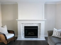 Marble Top Electric Fireplace. Home Decorators Collection