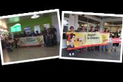 Gelebte Solidarität! 15. Juni 2016-Internationaler Tag der Gebäudereiniger am Flughafen Hannover