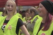 Video: Gebäudereiniger machen Druck - Respect for Cleaners Demo in Essen
