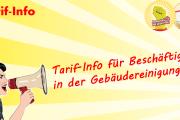 Tarif-Info für Beschäftigte in der Gebäudereinigung: Arbeitgeber mauern weiter!