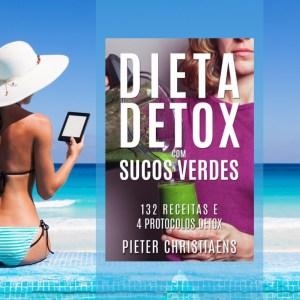 Ebook Dieta Detox com Sucos Verdes na Praia